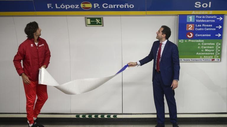La línea 3 de Metro se convierte en la Línea Copa Davis