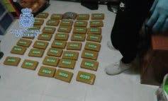 Hallan 19 kilos de heroína en una vivienda de Alcalá de Henares