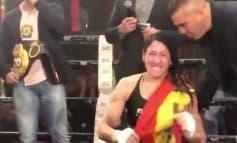 La torrejonera Miriam Gutiérrez, nueva campeona del mundo interina de boxeo