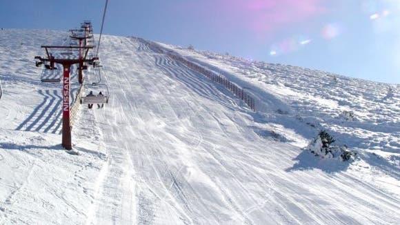 Abierta la estación de esquí Puerto de Navacerrada