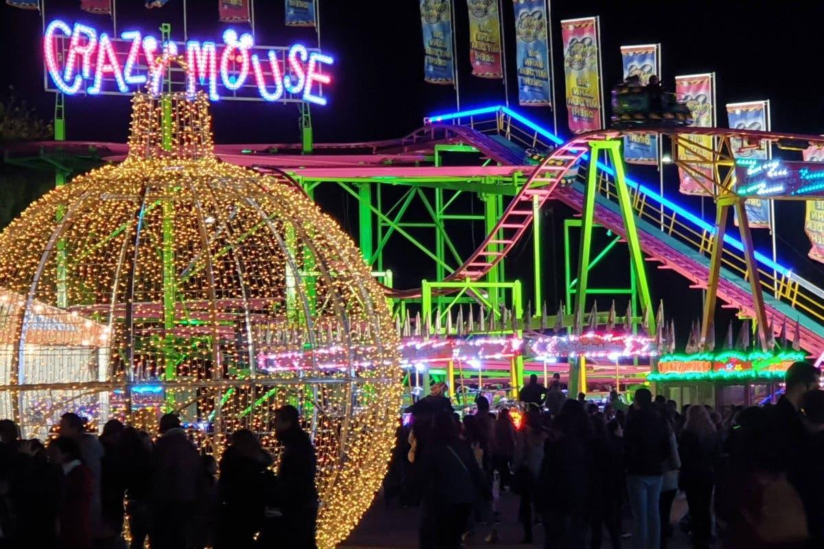 Así es Navidad Aventura, el parque de atracciones de Torrejón de Ardoz
