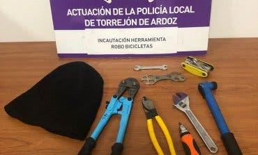 Pillados en Torrejón de Ardoz cuando intentaban robar bicicletas