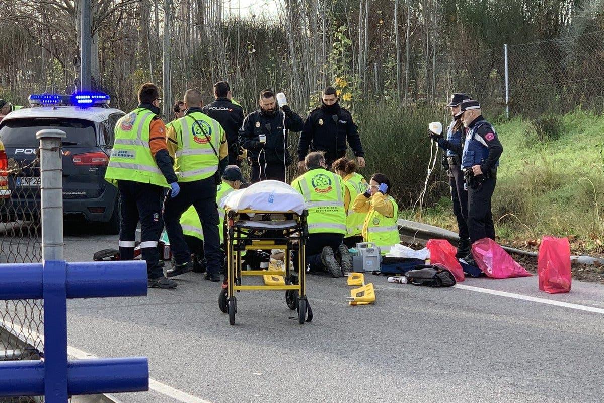 Muere un hombre de 65 años atropellado por un turismo en Madrid