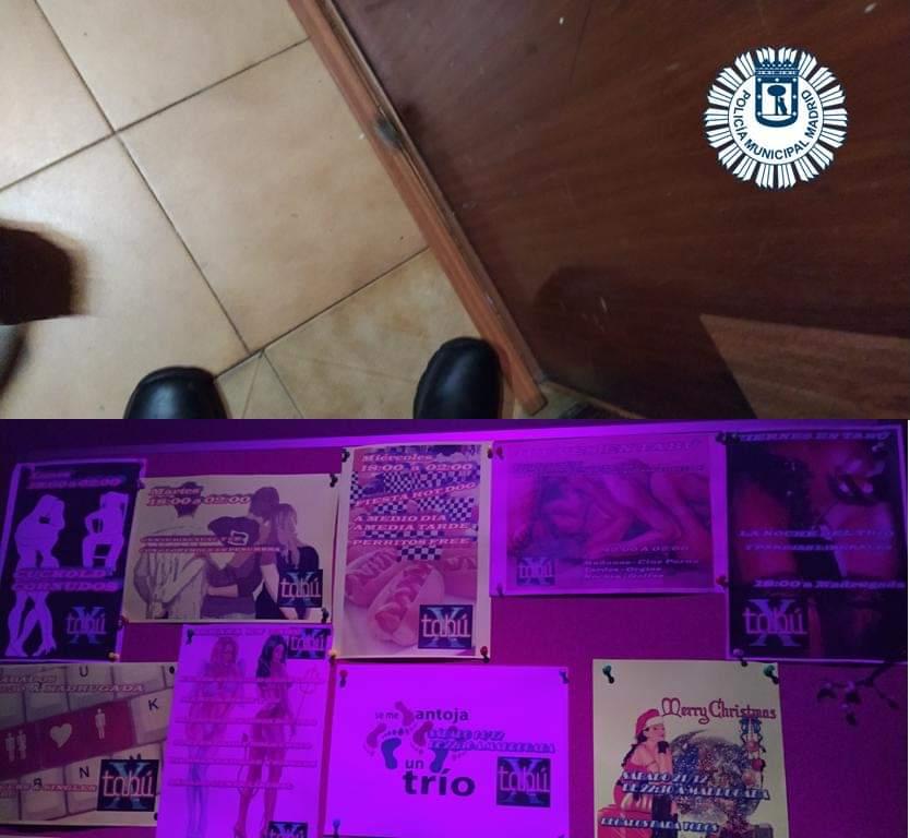 Descubren en Madrid tres bares que eran prostíbulos y ofrecían orgías a los clientes