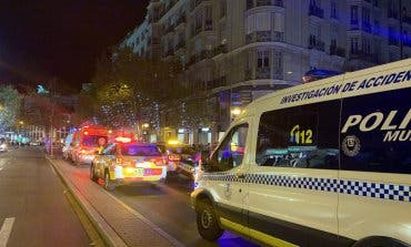 Herido grave un motorista tras sufrir un accidente en Madrid