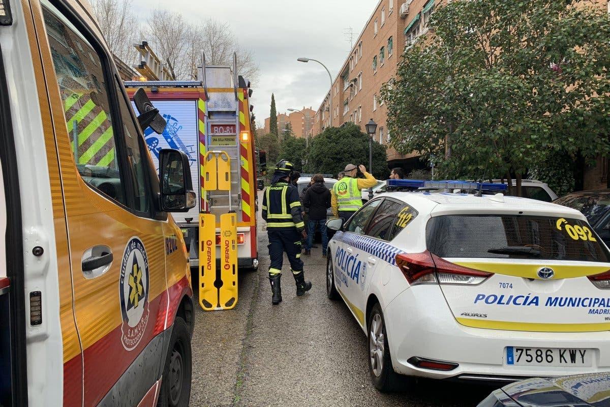 Muere un hombre de 56 años en un accidente laboral en Moratalaz