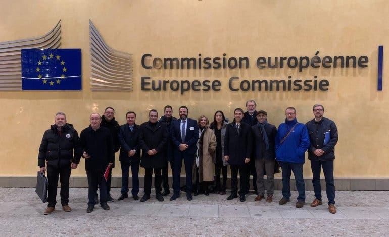 Alcaldes del Corredor del Henares presentan en Bruselas un plan de reindustrialización