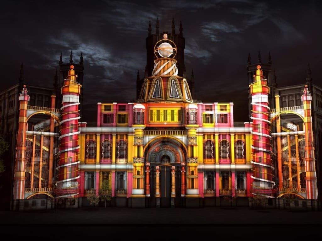 Madrid proyectará un espectacular vídeo mapping en el Palacio de Cibeles