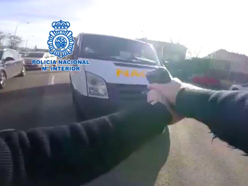 Detenido en Madrid tras robar una furgoneta llena de regalos en Nochebuena