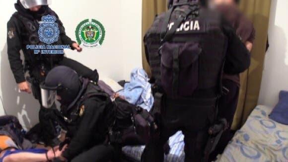 Detenidos en Azuqueca los jefes de una importante red de narcos colombianos