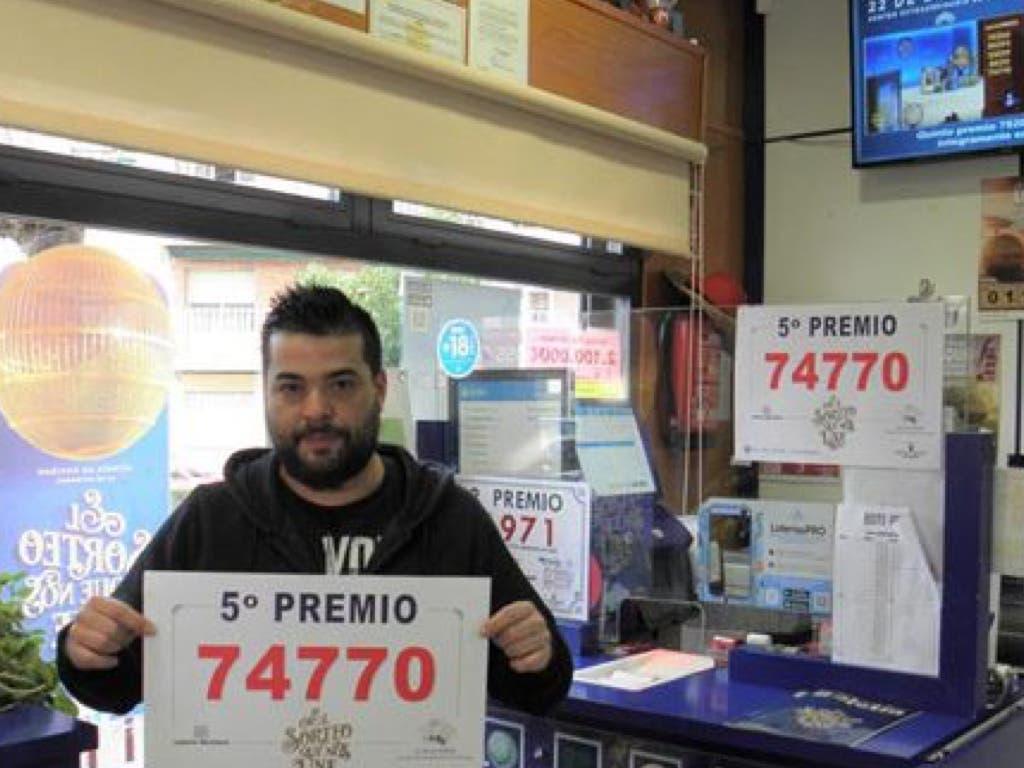 La Lotería de Navidad deja dos quintos premios en Guadalajara