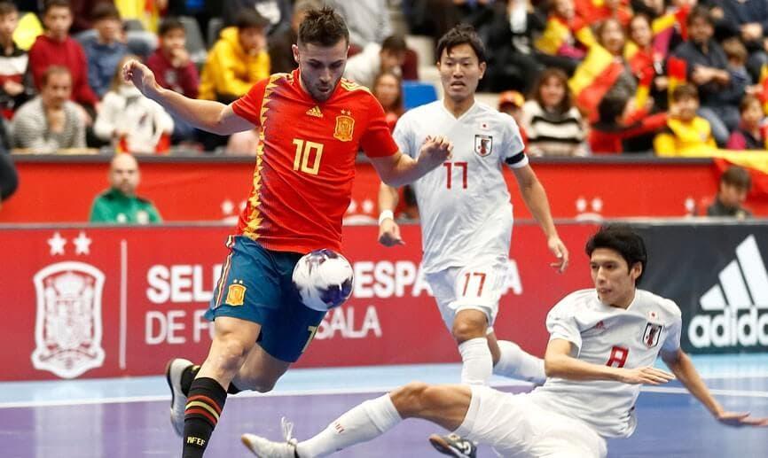 Este martes en Torrejón, amistoso de fútbol sala entre España y Japón