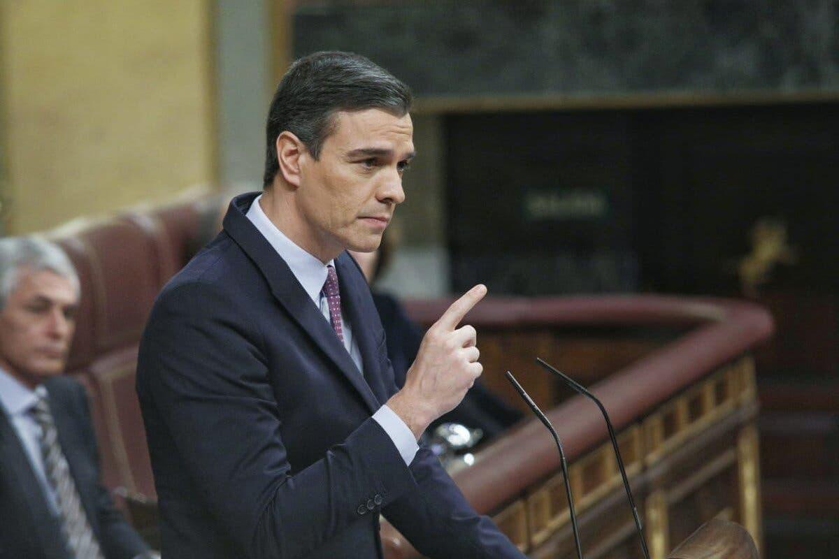 El Congreso rechaza la investidura de Pedro Sánchez en la primera votación