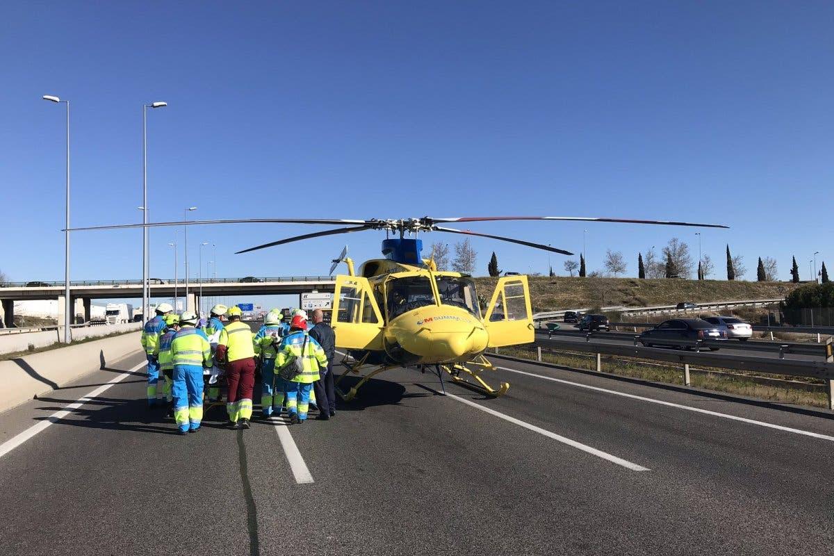 Estable dentro de la gravedad el hombre atropellado el sábado en Alcalá de Henares