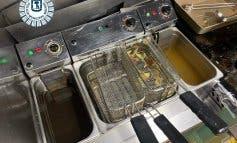 Hallan alimentos caducados y en mal estado en una cafetería de Madrid
