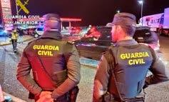 Detenidos en Azuqueca por robar cableado de las farolas de la A-2