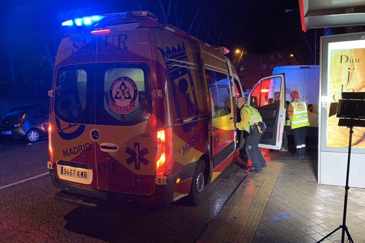 Muere un joven de 23 años apuñalado en Madrid