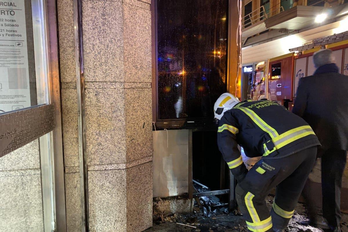 Desalojan la planta calle de El Corte Inglés de Callao por un pequeño incendio