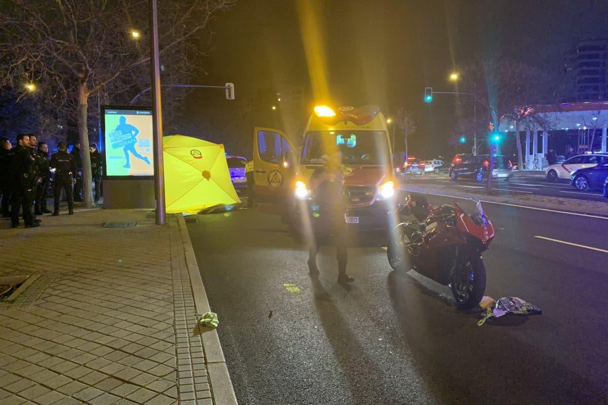 Muere la niña que fue atropellada por una moto en Madrid