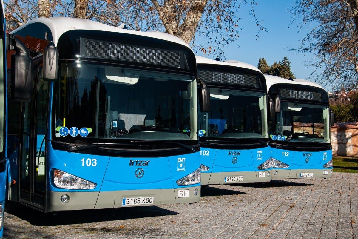La EMT invierte 35 millones en la compra de 50 autobuses eléctricos
