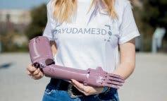 Estudiantes de Alcalá de Henares fabrican prótesis en 3D para personas sin recursos