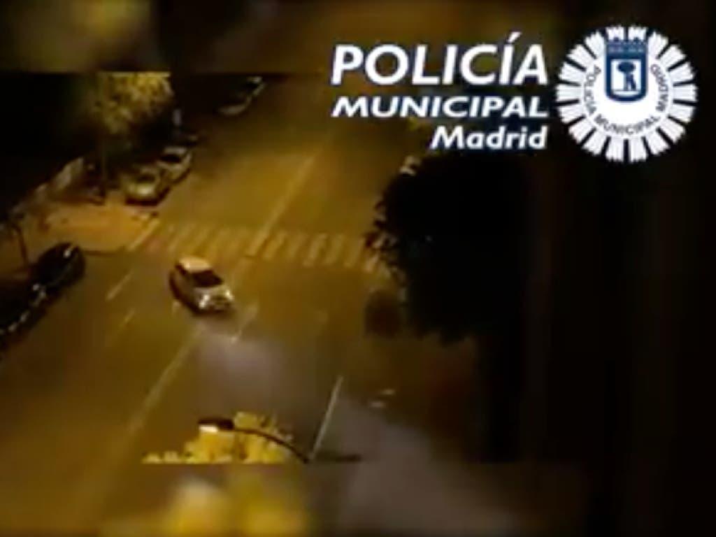 Golpe policial en Vallecas a las carreras ilegales con coches de alquiler