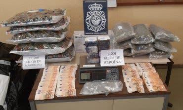 Desarticulado en Vicálvaro un grupo dedicado a distribuir heroína y al cultivo de marihuana