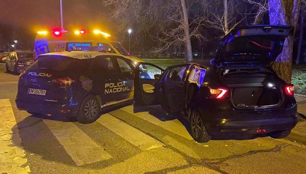 Secuestro de película en Vallecas: hallado en el maletero de su coche