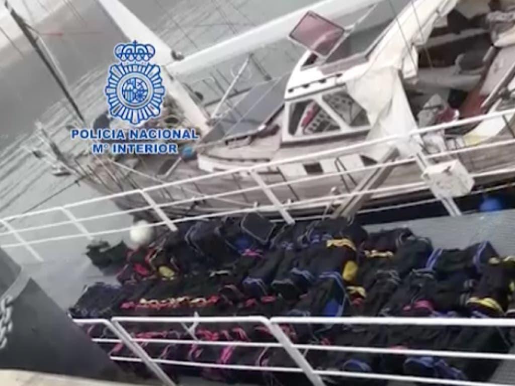 Intervenidas 2,5 toneladas de cocaína y detenidas siete personas, tres en Alcalá de Henares