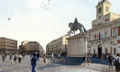 Así será la nueva Puerta del Sol tras su peatonalizació