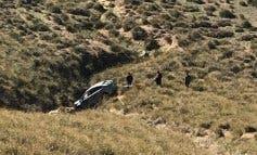 Herido un conductor tras despeñarse en el Cerro del Viso