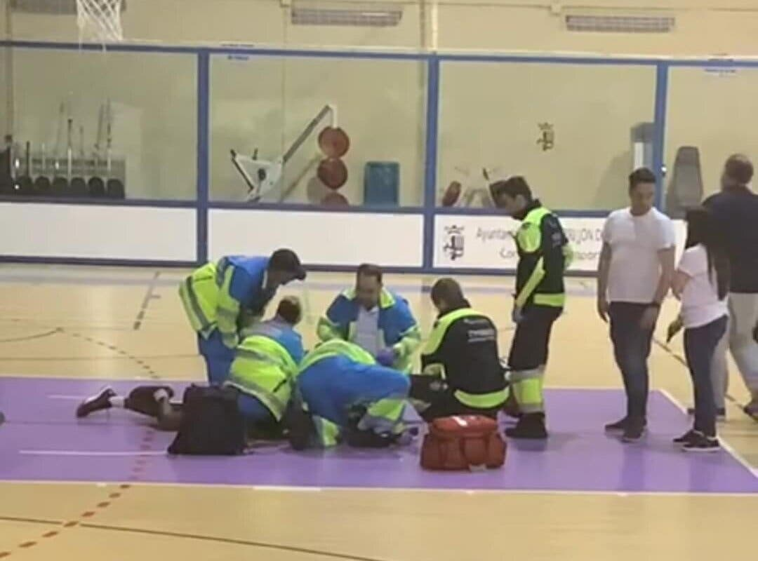 Basket: Susto en un partido cadete entre Torrejón de Ardoz y Alcalá de Henares