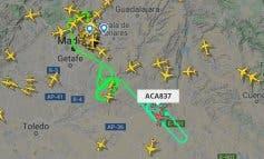 El avión de Air Canadá aterriza sin incidencias en Barajas
