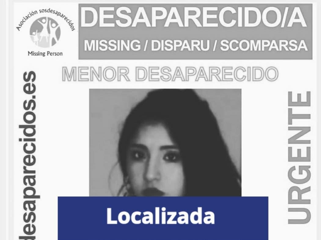 Localizada la joven de 17 años desaparecida en Meco