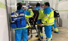 Ingresada en estado grave una mujer tras ser arrastrada por un tren de Cercanías