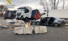 El camionero del accidente en la A-2 multiplicó por ocho la tasa de alcohol