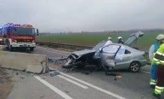 Muere un hombre en un accidente en San Fernando de Henares