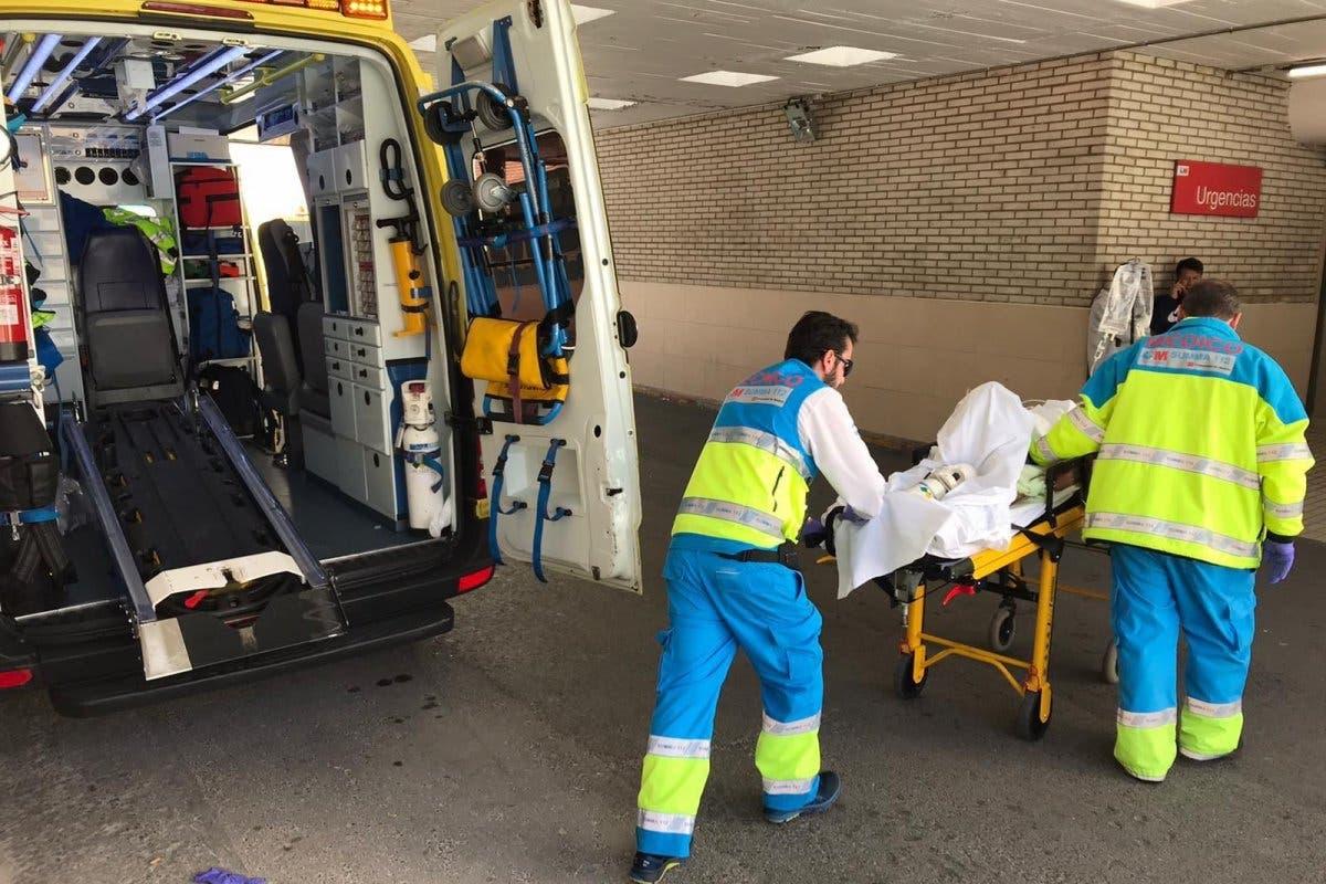 Herido muy grave un hombre en Rivas tras saltarle el disco de una radial