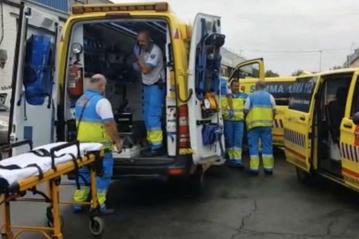 Herido muy grave un trabajador al caer desde seis metros de altura en Alcobendas