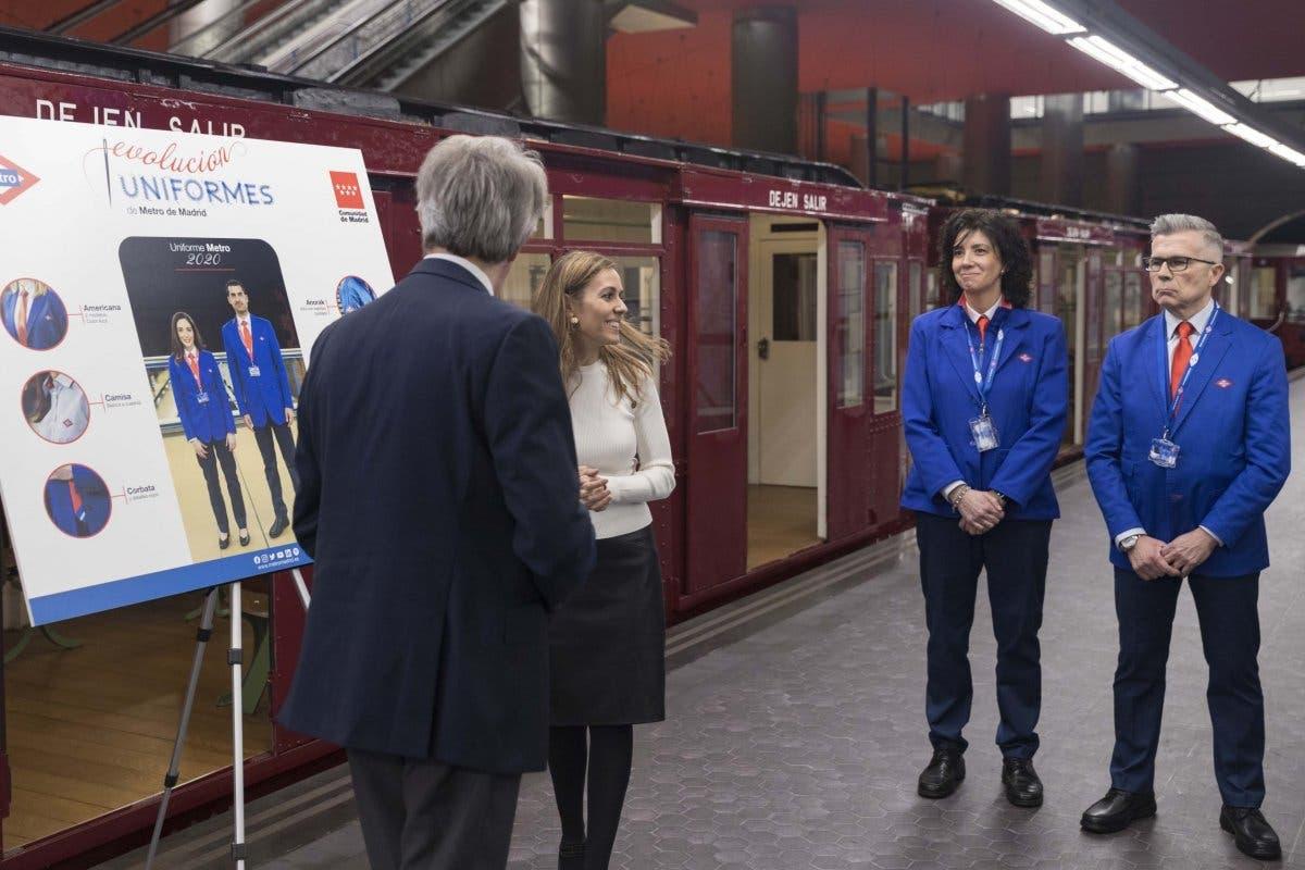 Así son los nuevos uniformes de los empleados de Metro de Madrid