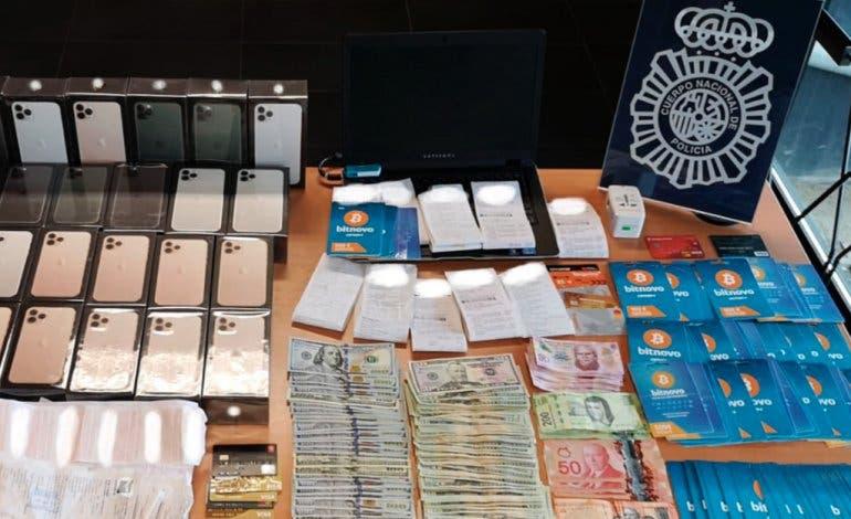 Detenido en Madrid por estafar 100.000 euros comprando criptomonedas con tarjetas falsificadas