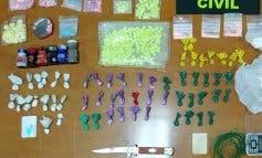 Detenidos dos jóvenes, uno en Alcobendas, por traficar con un amplio surtido de drogas
