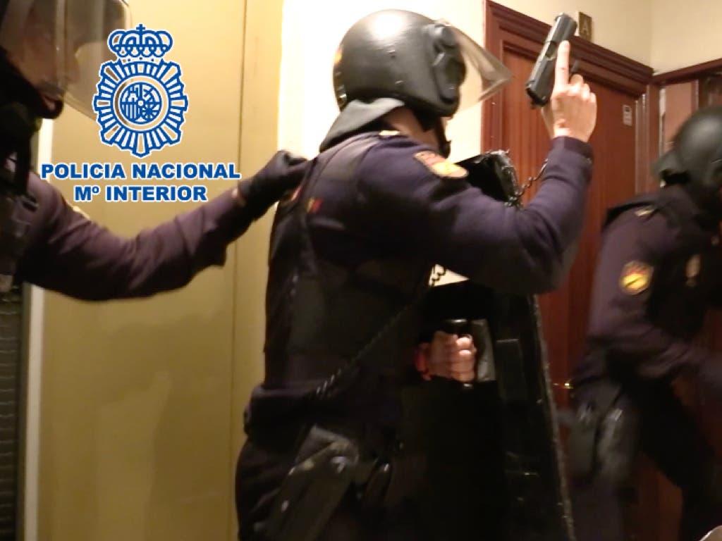 Desmantelados cuatro narcopisos en Madrid con diez detenidos