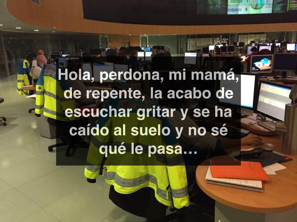 Así salvó la vida de su madre un niño llamando al 112 en Leganés