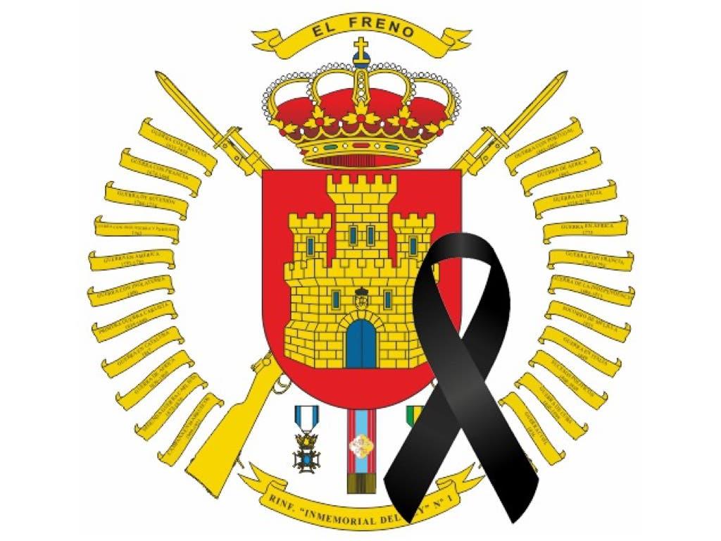 Luto en el Ejército de Tierra por la muerte de u soldado en Madrid