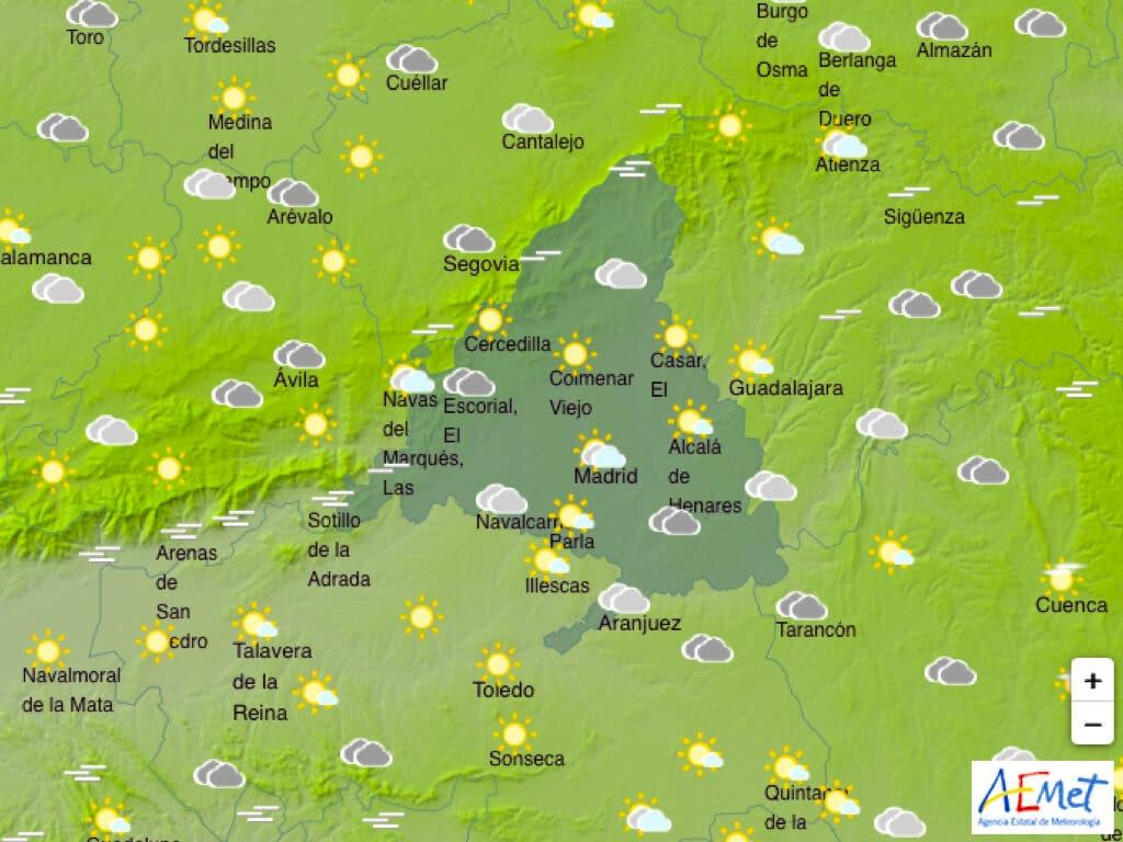 El Tiempo: Comienza febrero con temperaturas casi primaverales en el Corredor del Henares