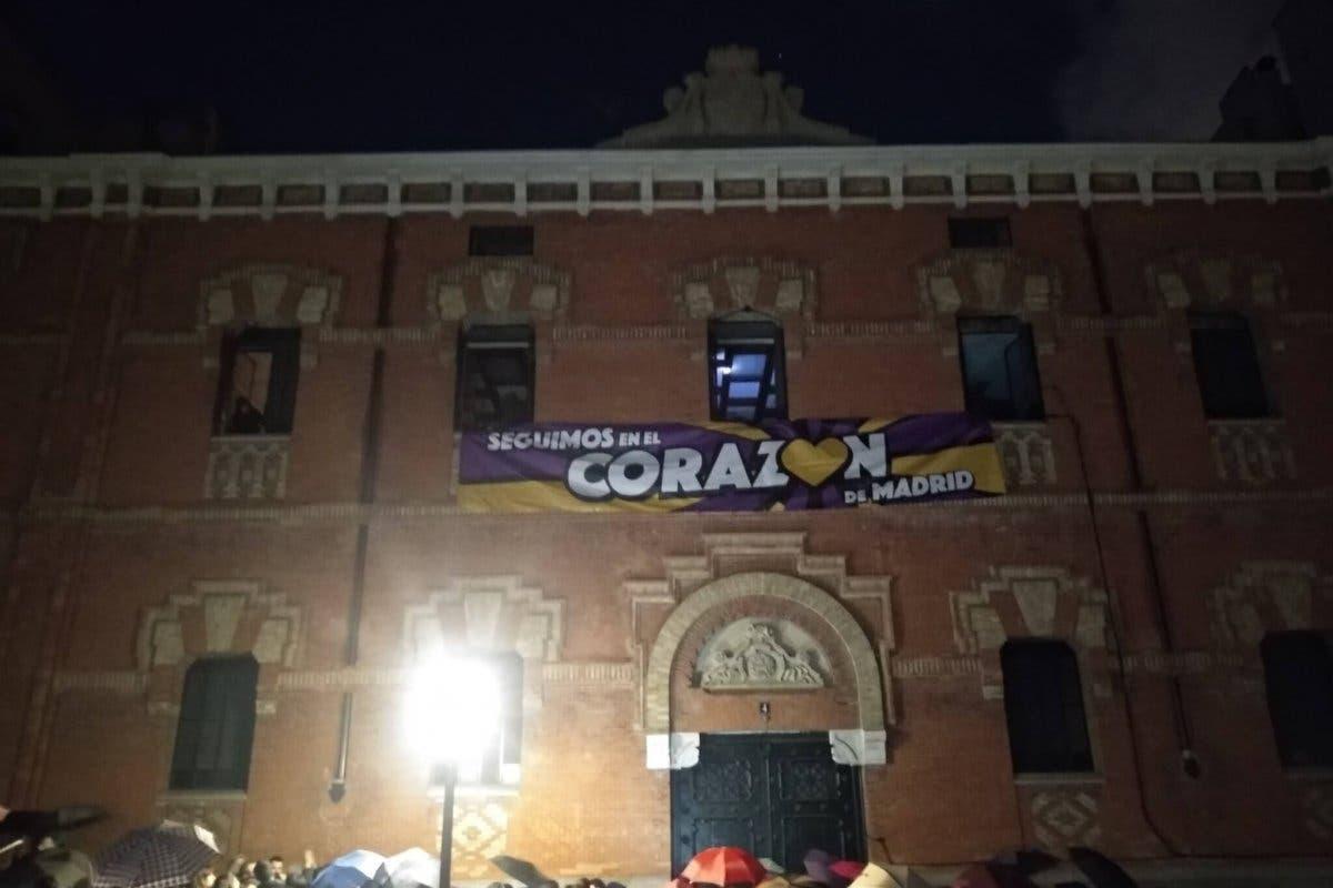 El colectivo La Ingobernable okupa otro edificio en el centro de Madrid