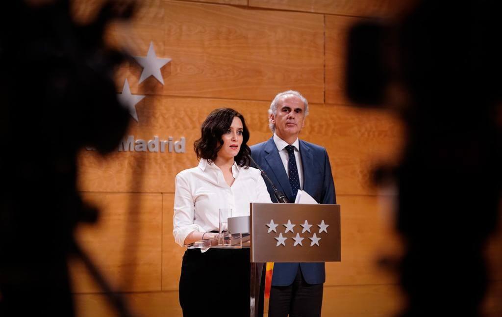 Coronavirus: La Comunidad de Madrid suspende las clases en todos los niveles educativos