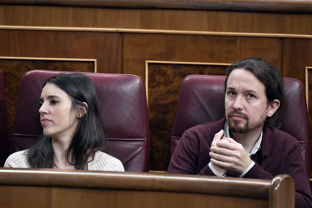 Irene Montero da positivo en coronavirus y Pablo Iglesias está en cuarentena