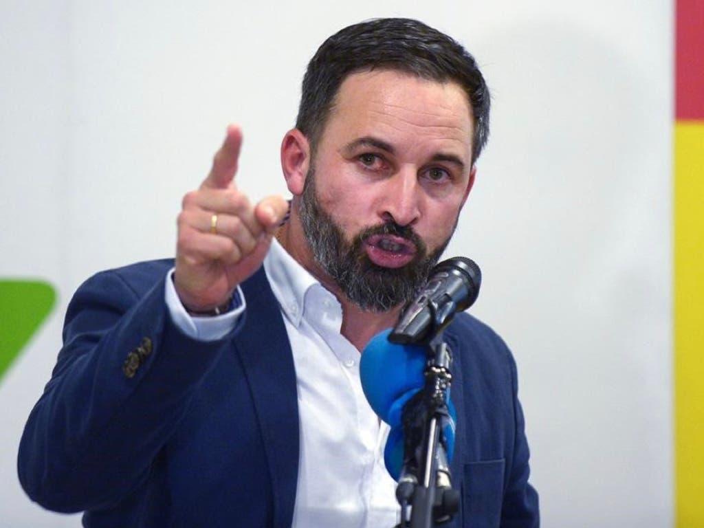 Santiago Abascal, otra ministra y una consejera madrileña, nuevos políticos con coronavirus